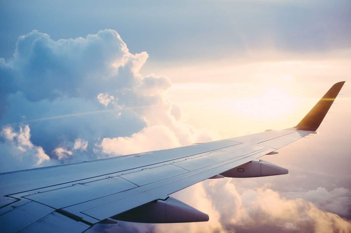 imagen viaje avión